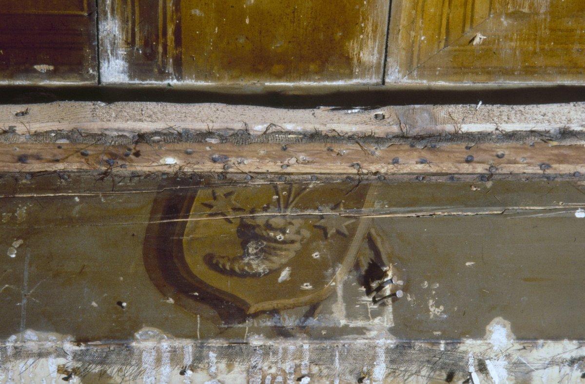 File interieur beschilderd plafond detail haarlem for Interieur haarlem
