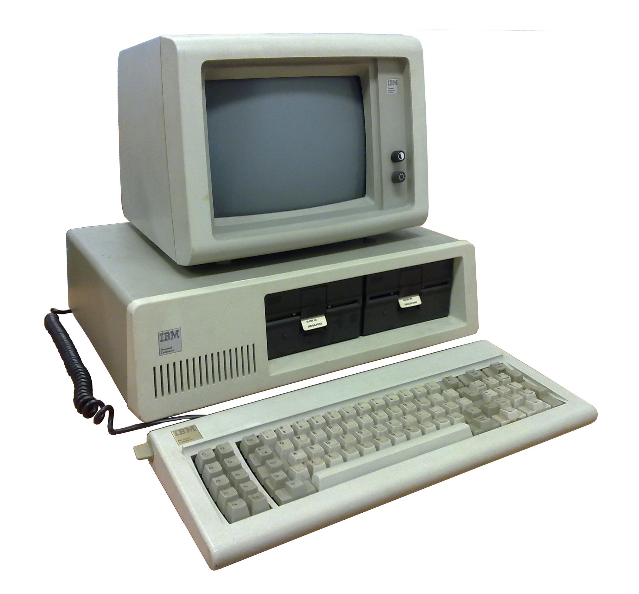 Desktop Computer Wikipedia 1 Set Komputer Ibm 5150 Personal