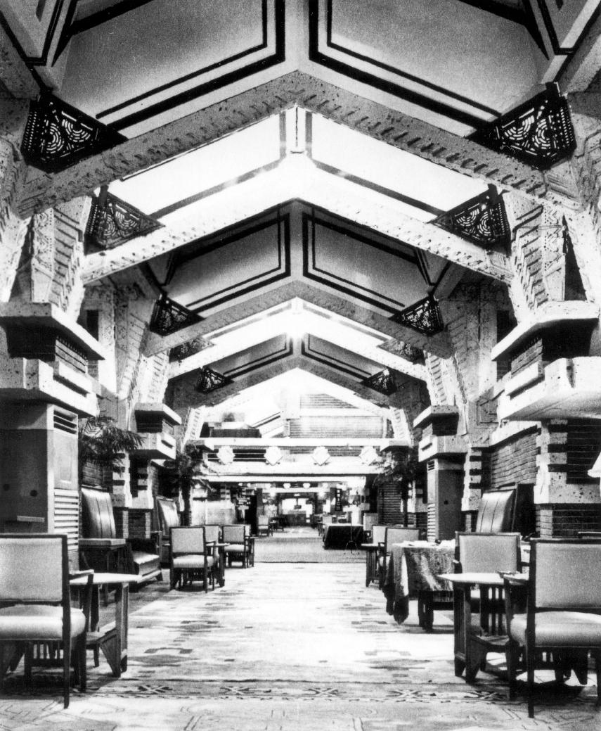 Frank Lloyd Wright Design Website