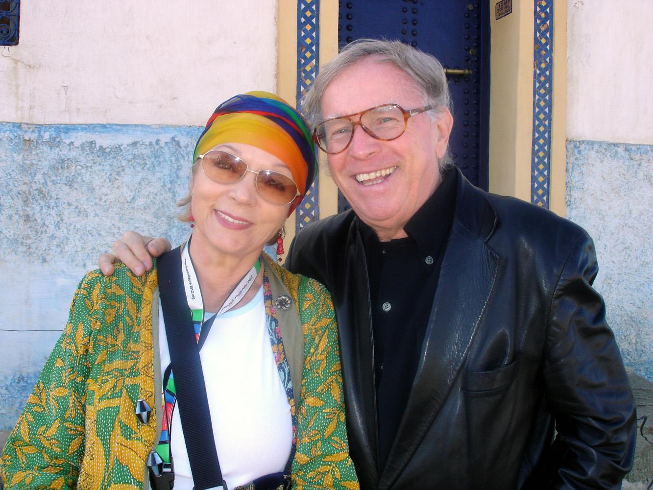 Klaus Doldinger mit Frau Inge