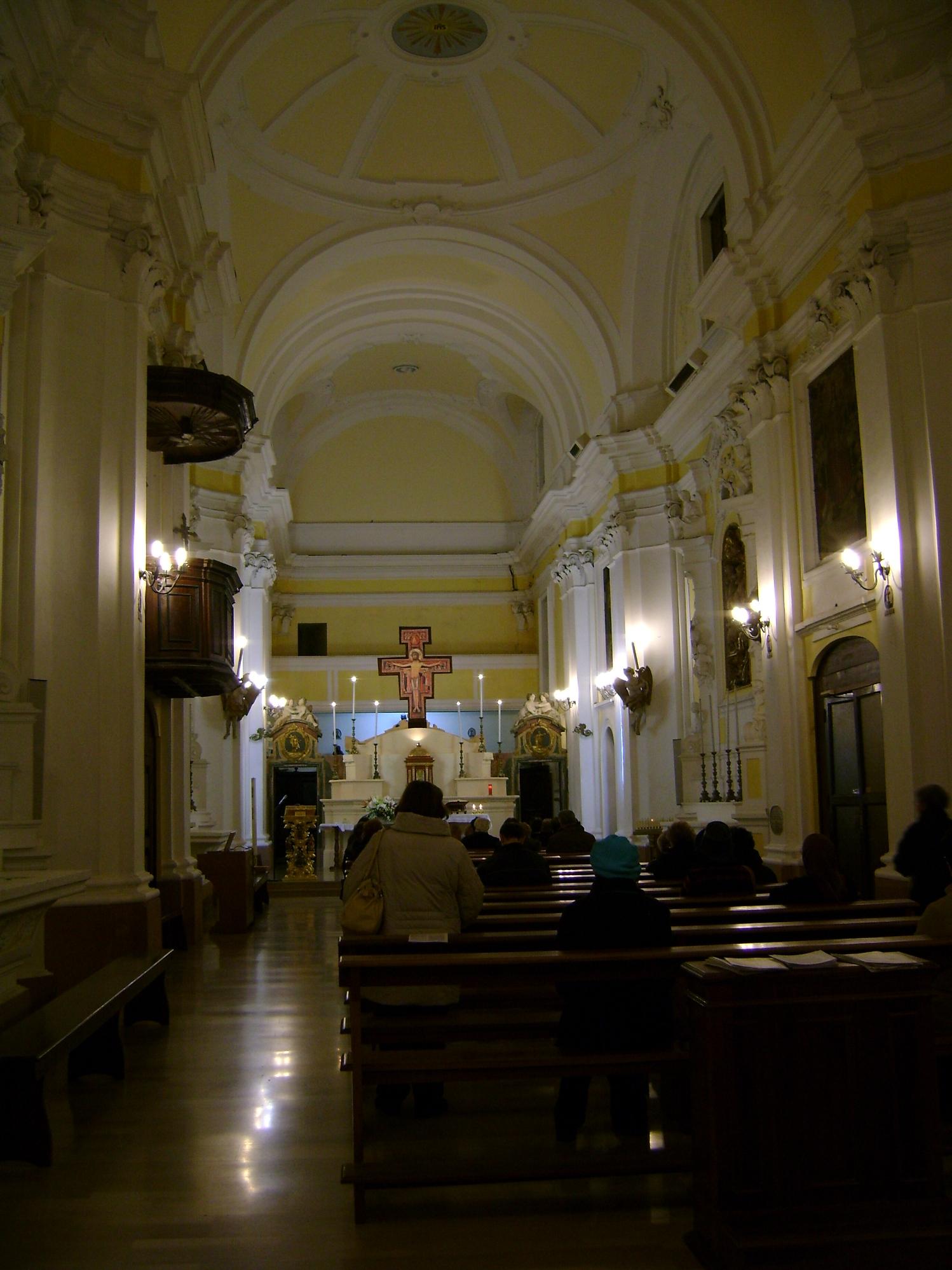 File Interno Chiesa Di San Francesco Guardiagrele Jpg