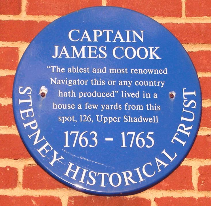 James Cook Blue Plaque.png
