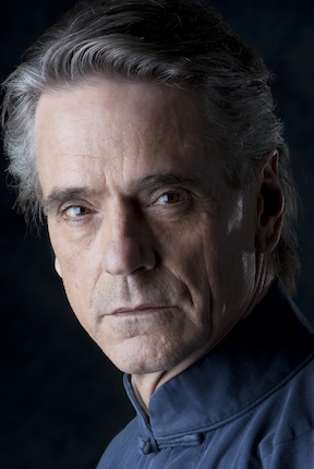 Depiction of Jeremy Irons