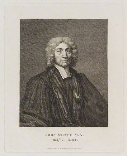 John Strype, engraving by William Richardson.