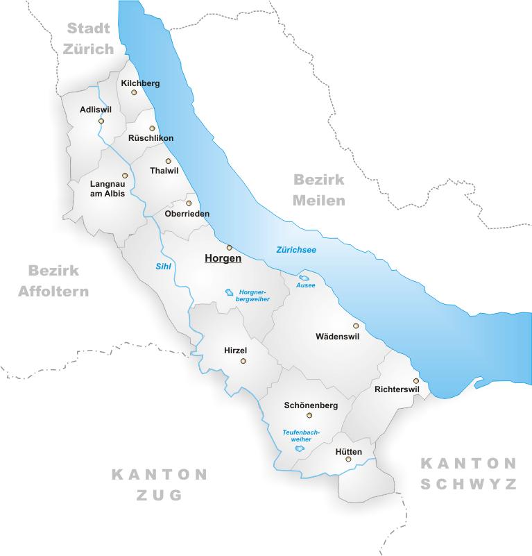 FileKarte Gemeinden des Bezirks Horgenpng Wikimedia Commons