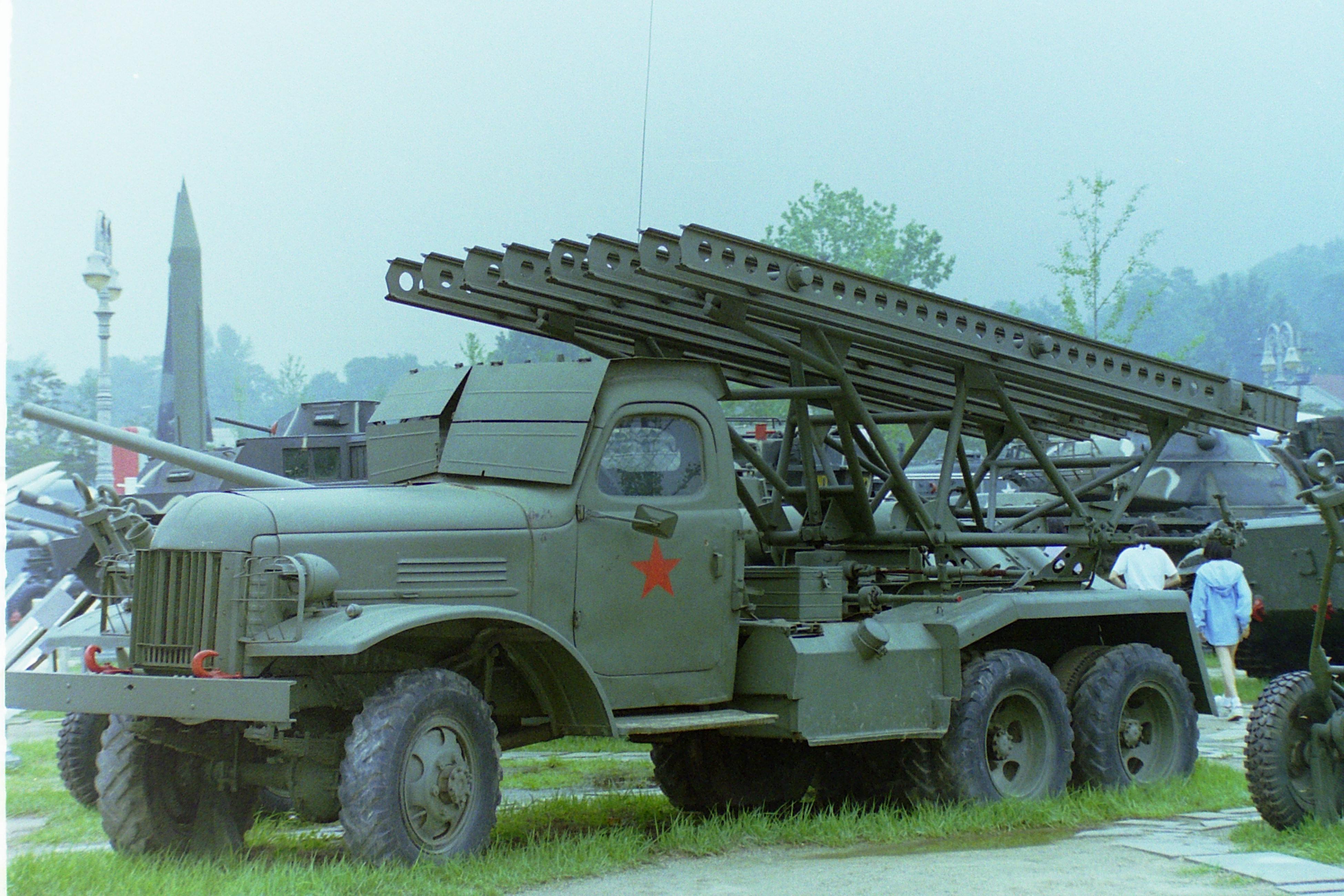 File:Katyusha rocket launcher on ZiS Spielvogel JPG