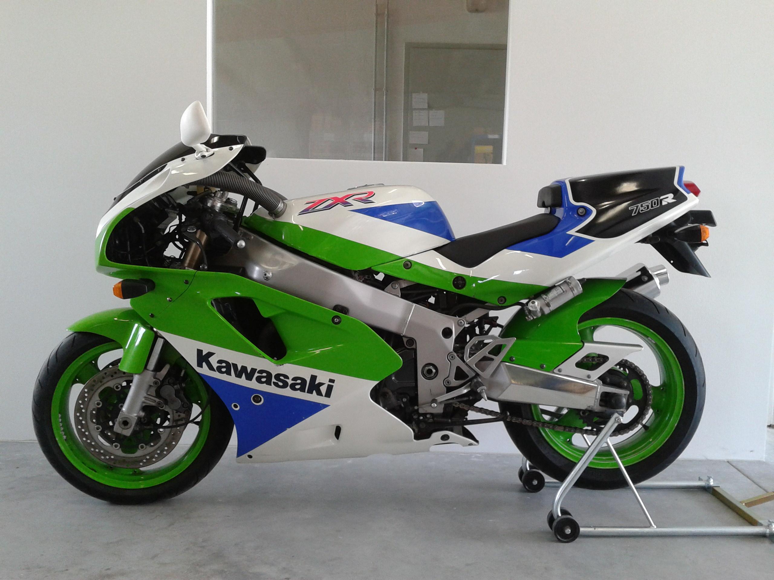 Kawasaki Zxr Fairing Decals