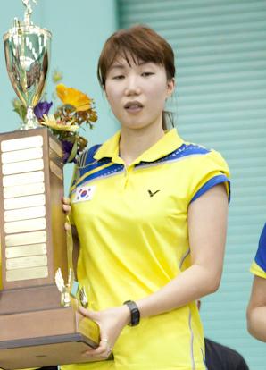 Kim Min-jung 2011 US Open Badminton 1