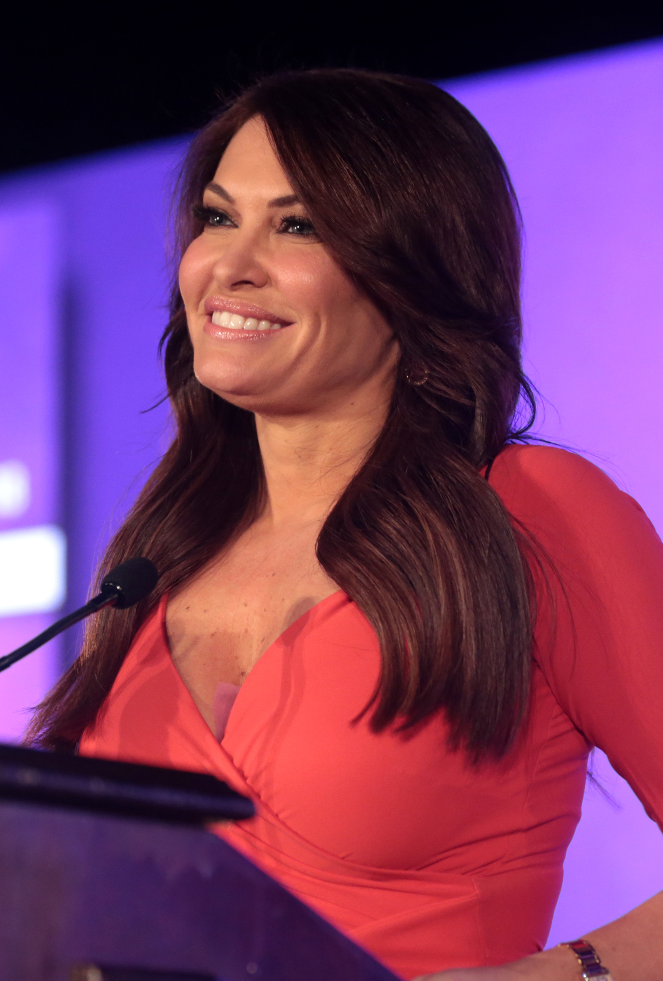 The 49-year old daughter of father (?) and mother(?) Kimberly Guilfoyle in 2018 photo. Kimberly Guilfoyle earned a  million dollar salary - leaving the net worth at 5 million in 2018