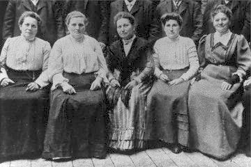 Ottilie Bader, Konferenz Frauen SPD 1900