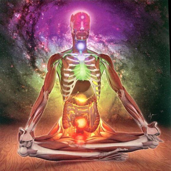 Kundalini - czakramy u człowieka