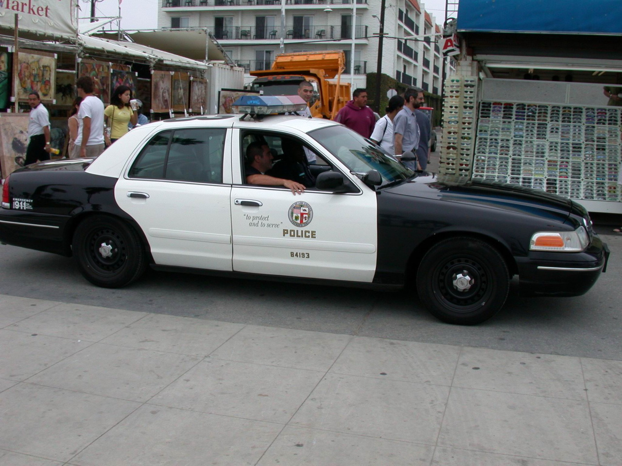 Color car los angeles - File Lapd Police Car Jpg