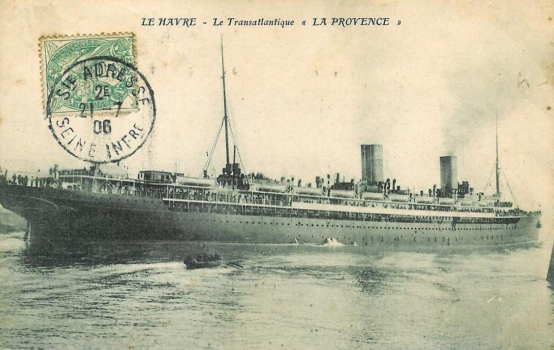 La provence paquebot de 1906 wikip dia - Le journal de provence ...