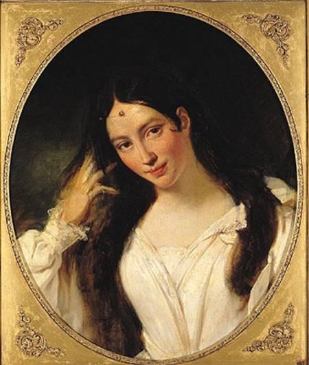 François Bouchot. Maria Malibran. Louvre, Paris