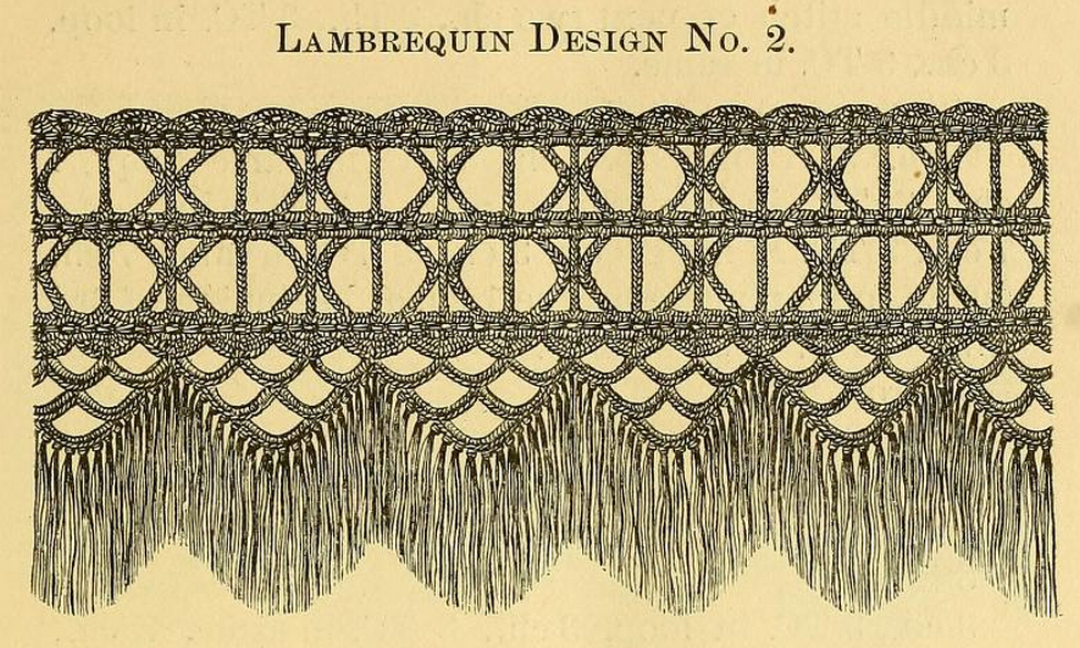 Lambrequin Wiktionary