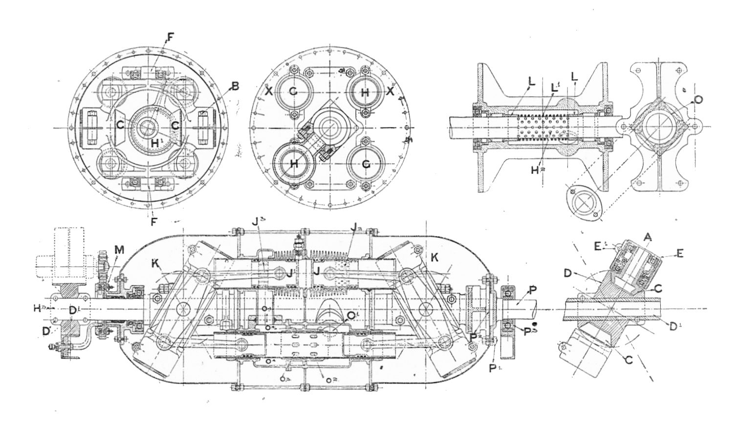 file llough s rotary engine section rankin kennedy modern engines vol v jpg wikimedia