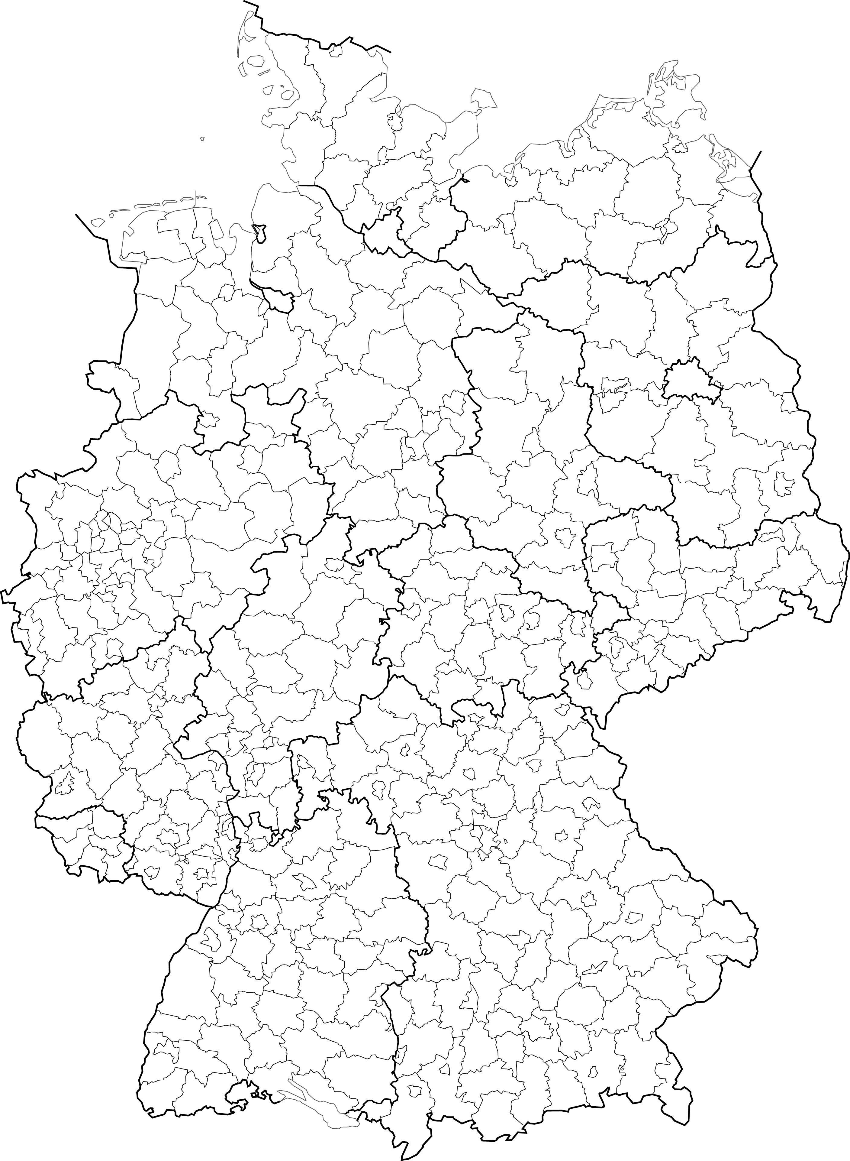 File Landkreise Kreise Und Kreisfreie Stadte In Deutschland 2007