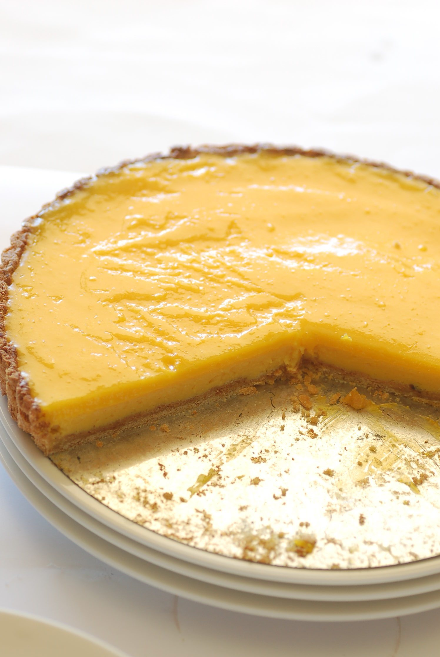 Lemon Curd Pie Recipe — Dishmaps