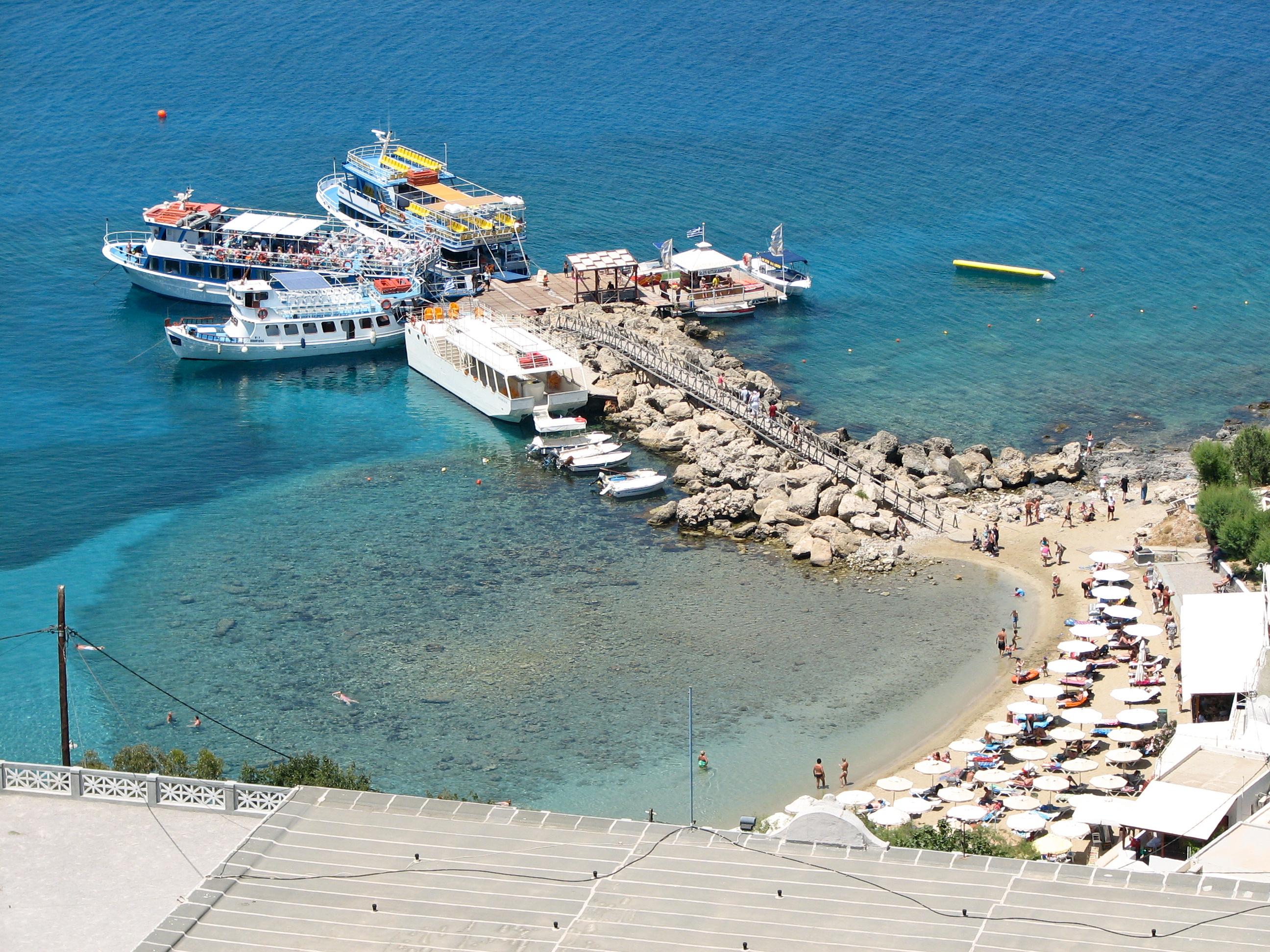 Lindos Rhodes Island Greece