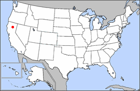 location of len volcanic national park in the united states cinder cone locator map