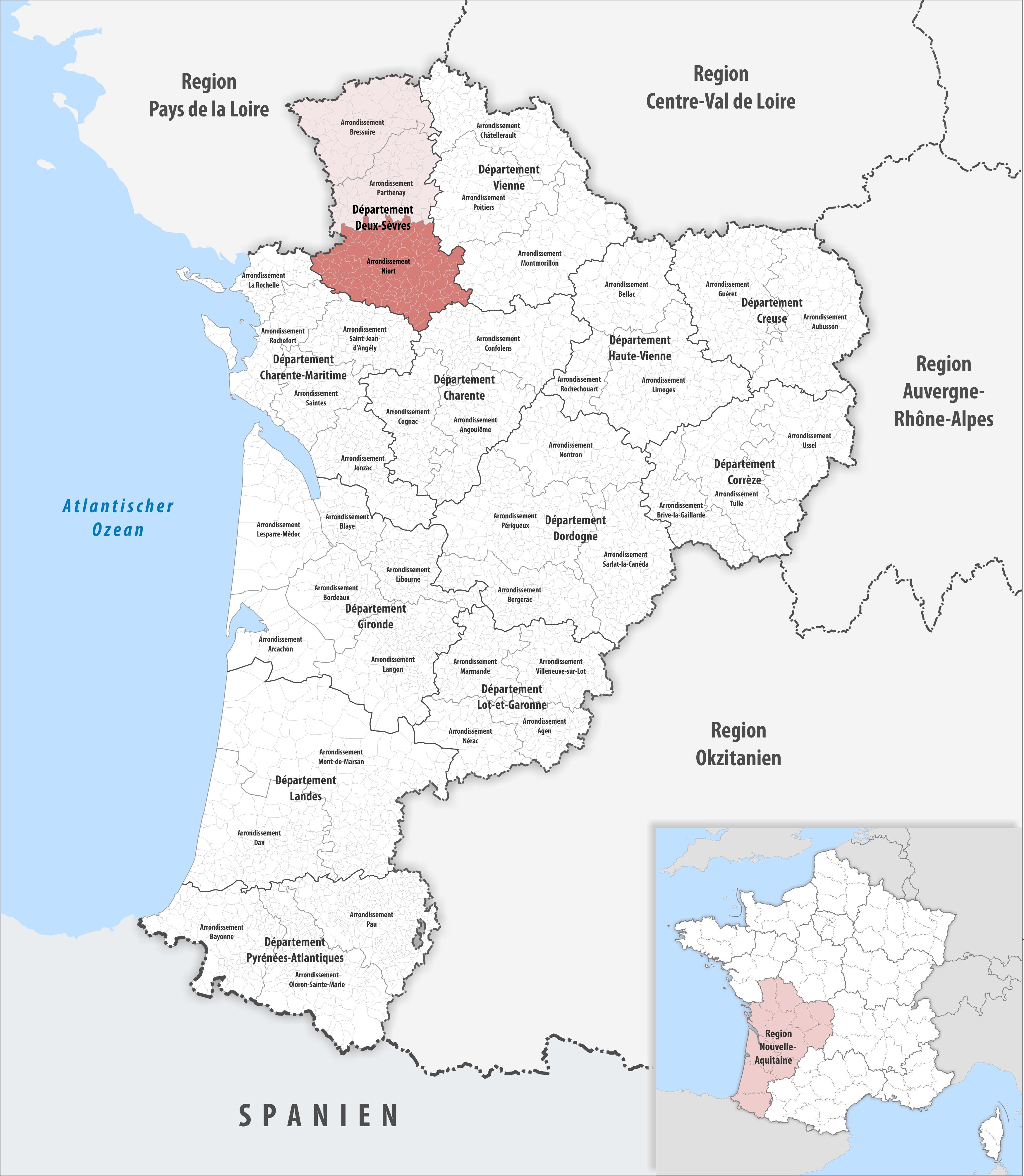 Arrondissement Of Niort Wikipedia