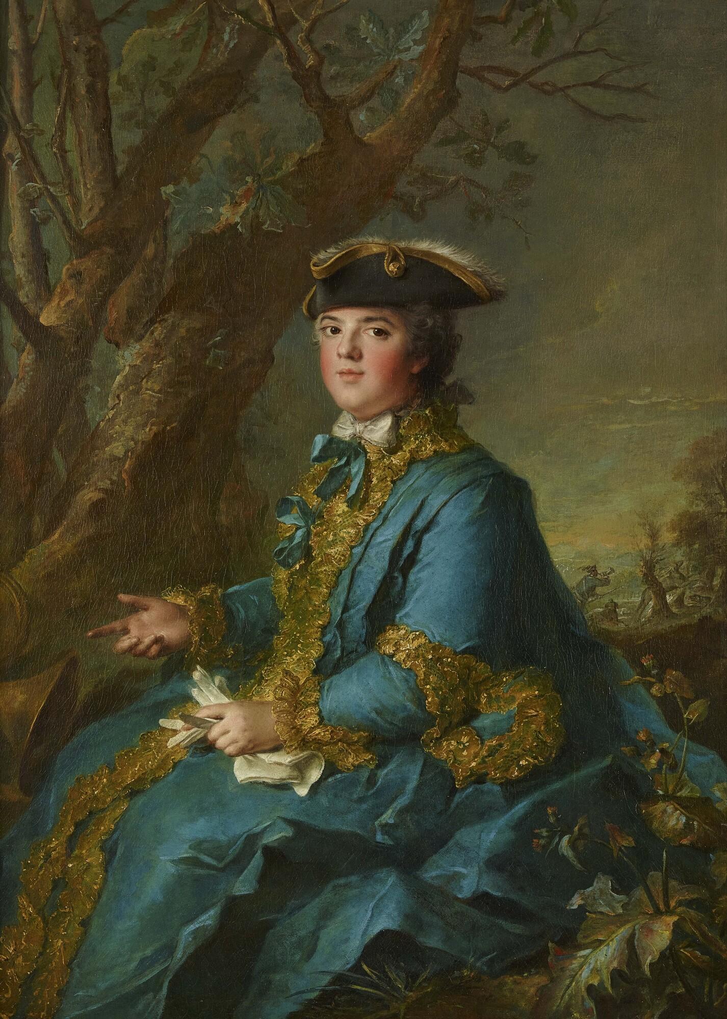 Louise-Élisabeth de France, duchesse de Parme (1760) by Jean-Marc Nattier.jpg