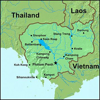 Map Cambodia