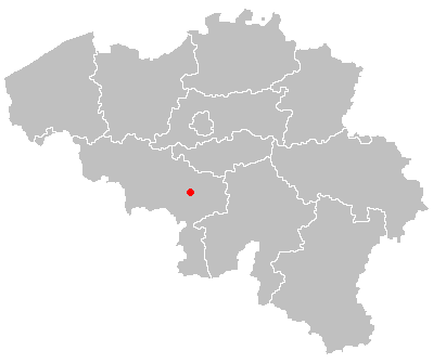 Map of la louviere in belgium.PNG
