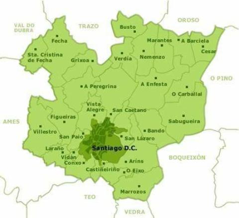 File Mapa De Parroquias De Santiago Jpg Wikimedia Commons