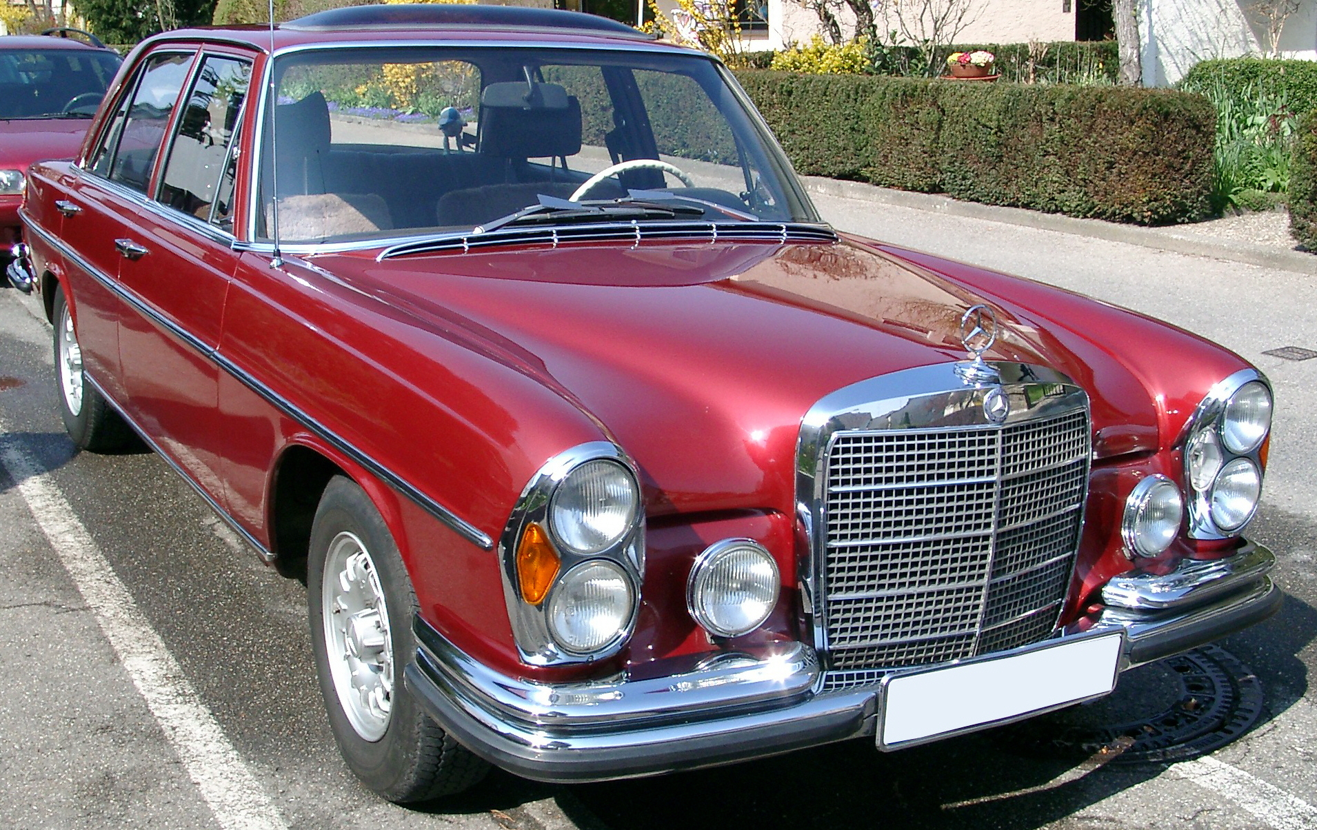 1968 mercedes benz 280 se in l