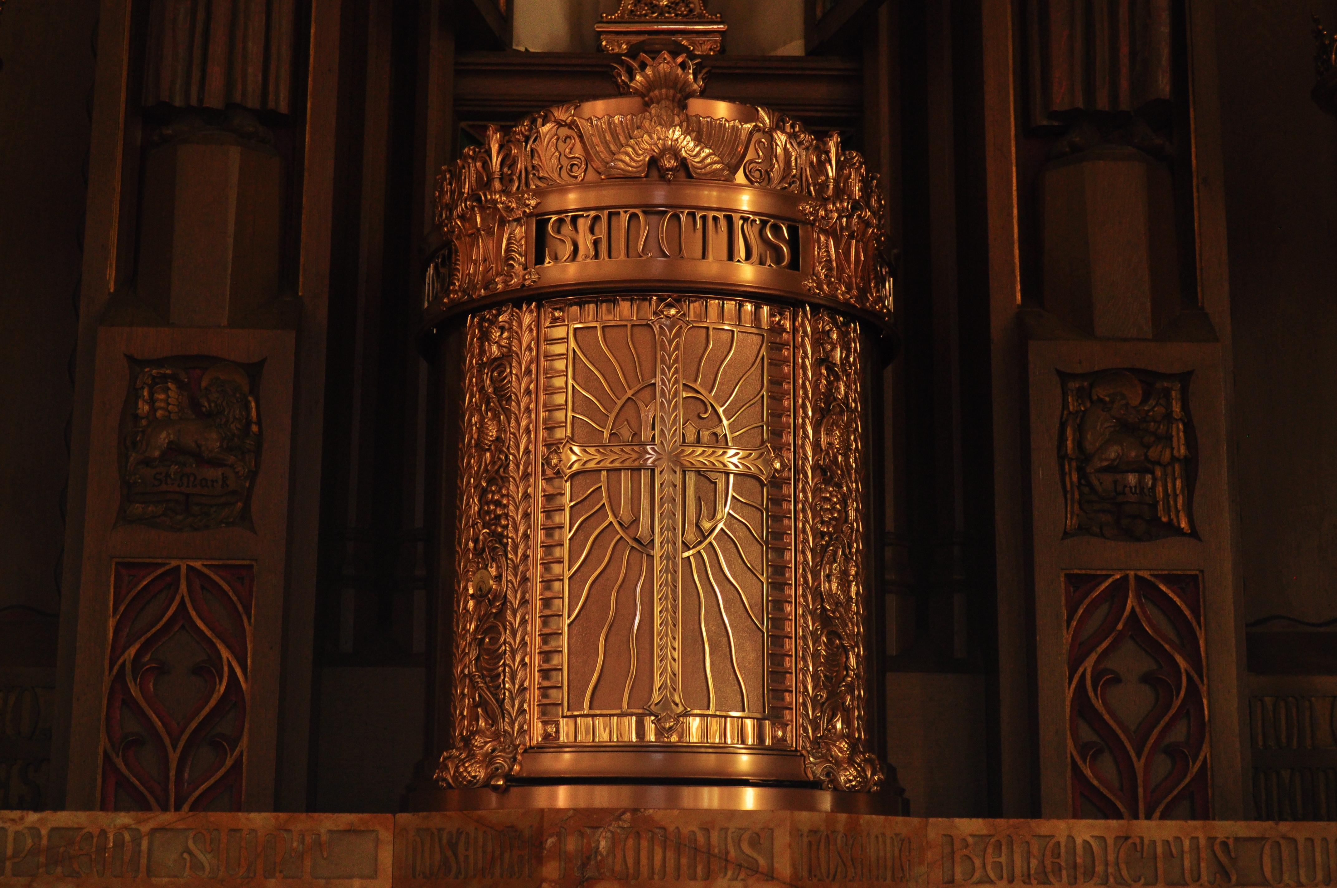 File:Middletown, CT - St. John Church - tabernacle 01 ...