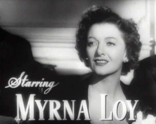 The Myrna Loy Best Years of Our Lives 1946