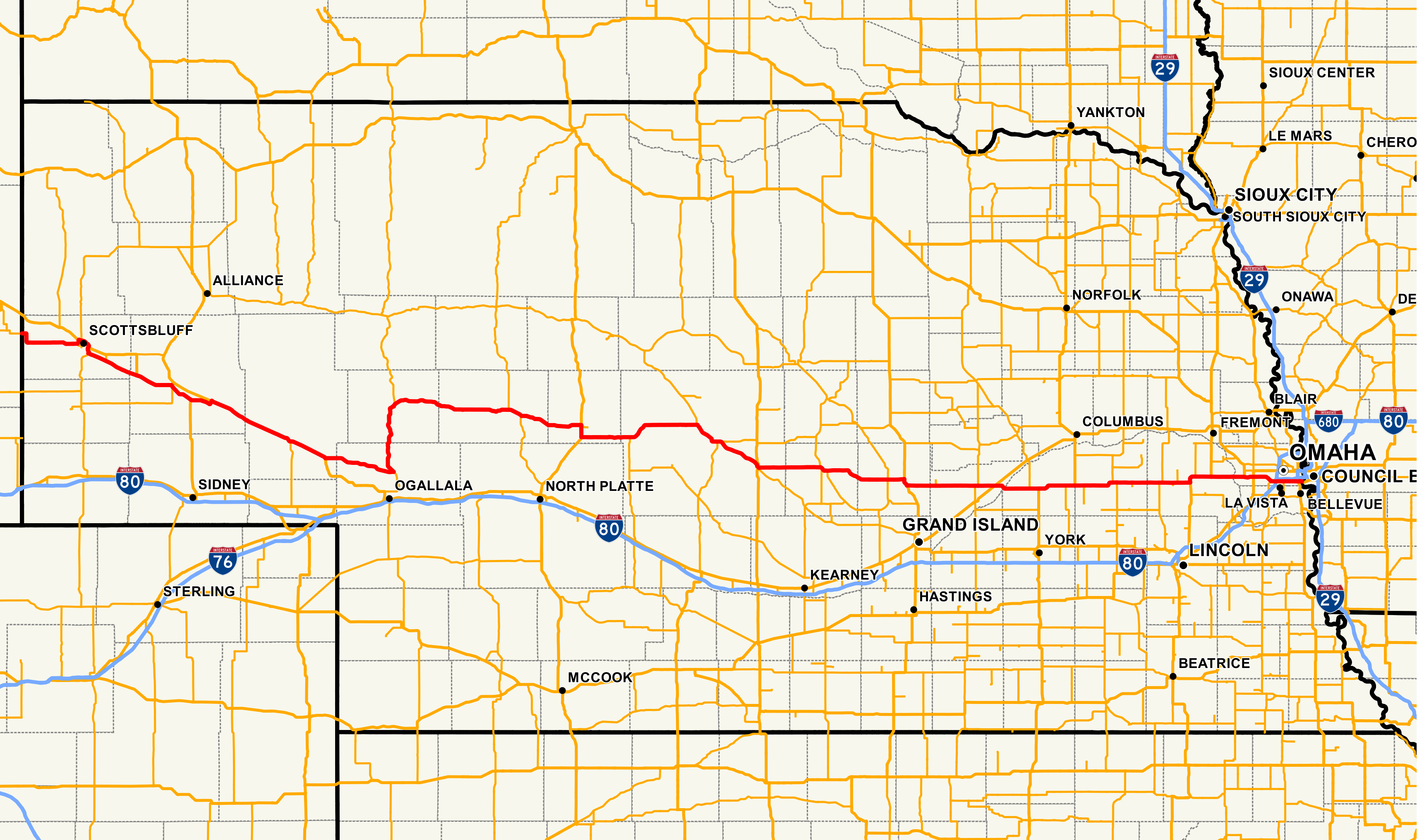 File Nebraska Highway 92 Map Png Wikipedia