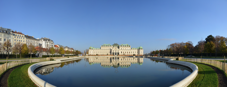 File:Oberes Belvedere Wien, Panorama.jpg - Wikimedia Commons