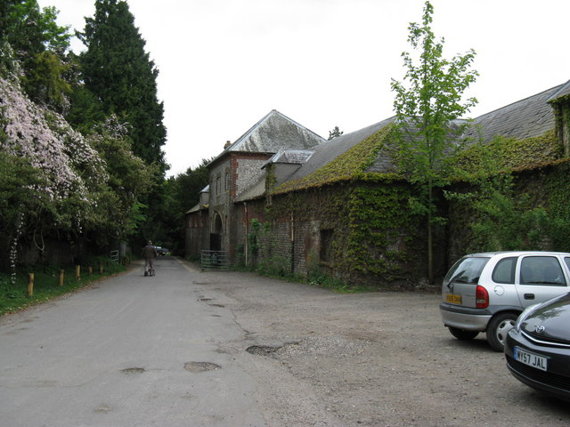 File:Old Stable block to the west of Stanmer House - geograph.org.uk - 1458427.jpg