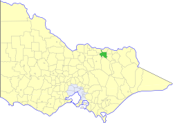 Shire of Wangaratta (Victoria) Local government area in Victoria, Australia