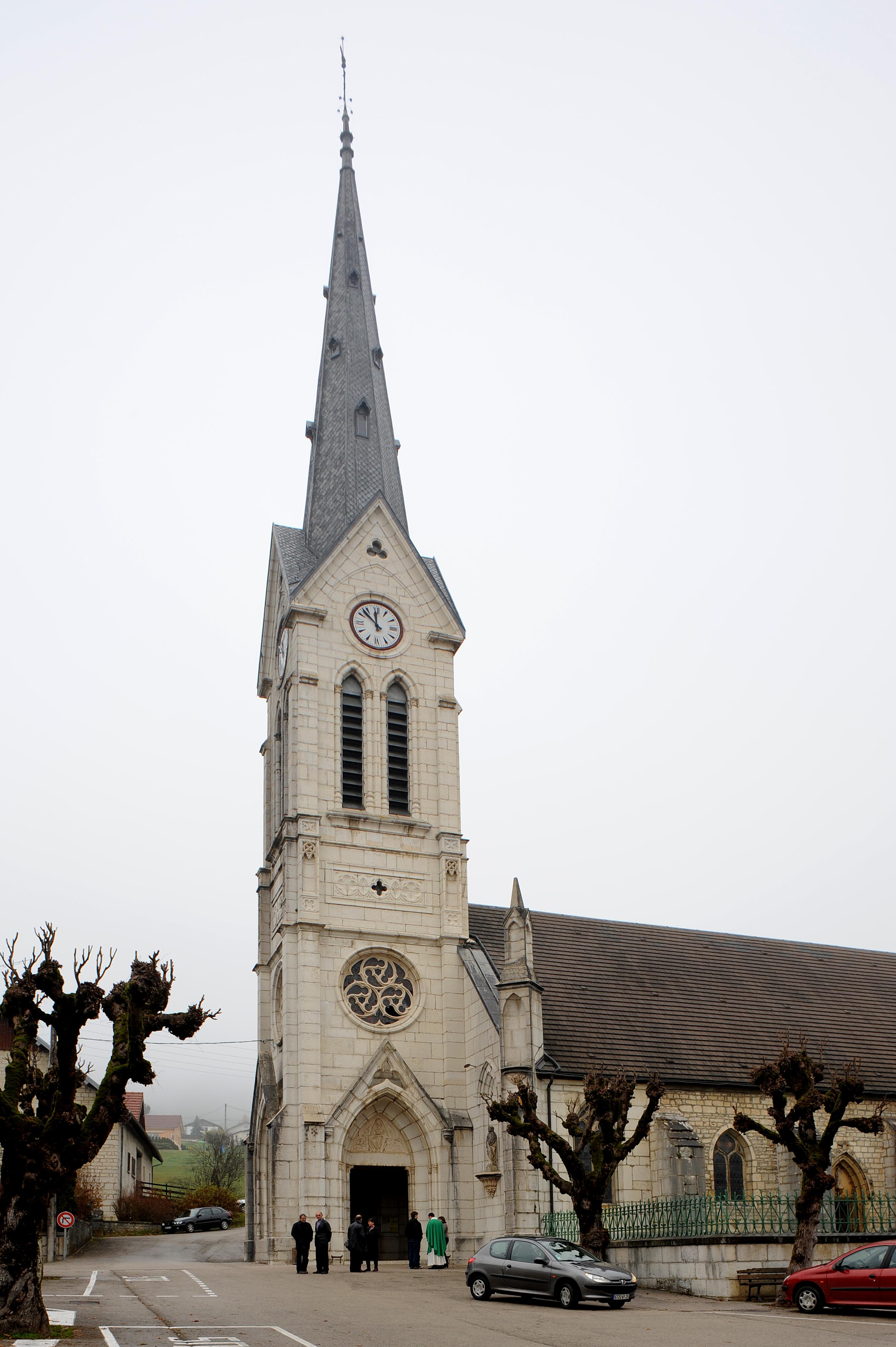 Eglise d'Orchamps Vernes