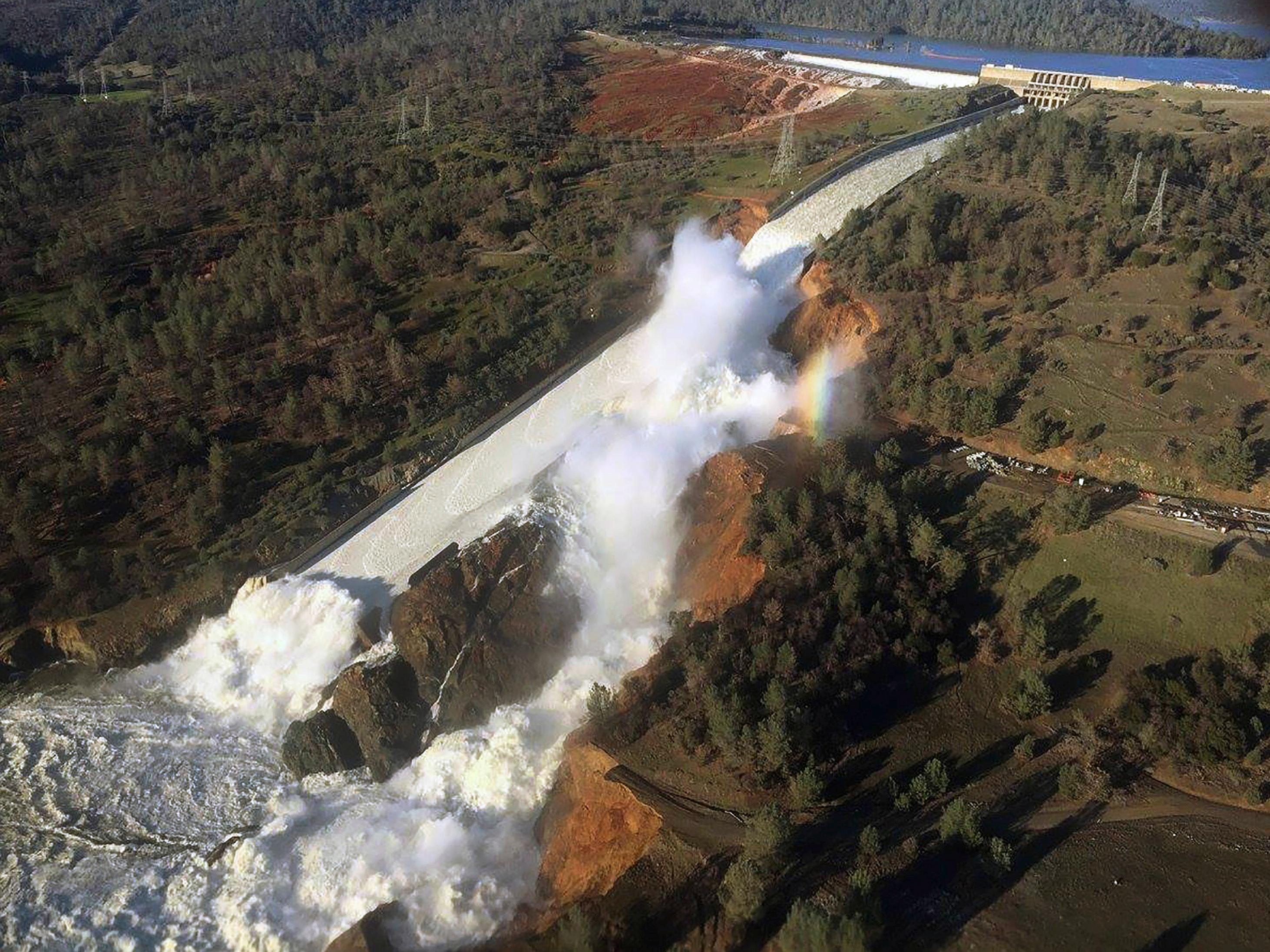 Oroville Dam Crisis Wikipedia