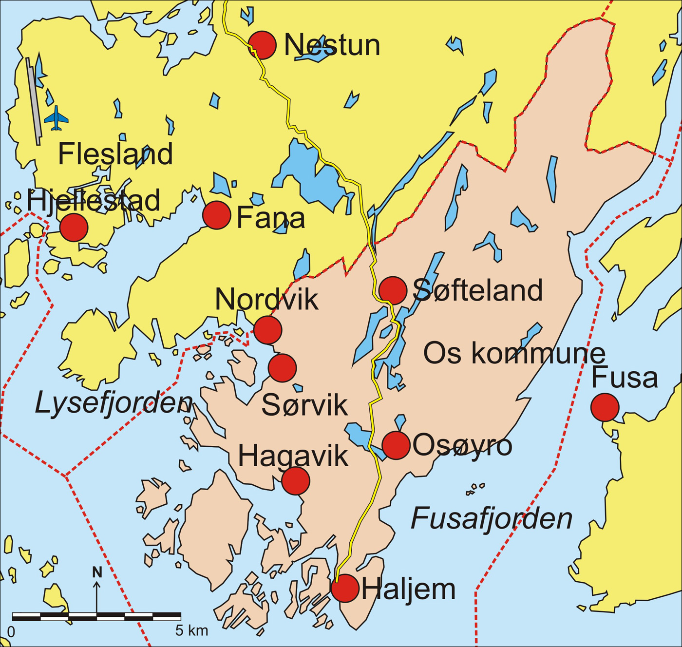 kart over kommuner i hordaland Fil:Os i Hordaland kart. – Wikipedia kart over kommuner i hordaland