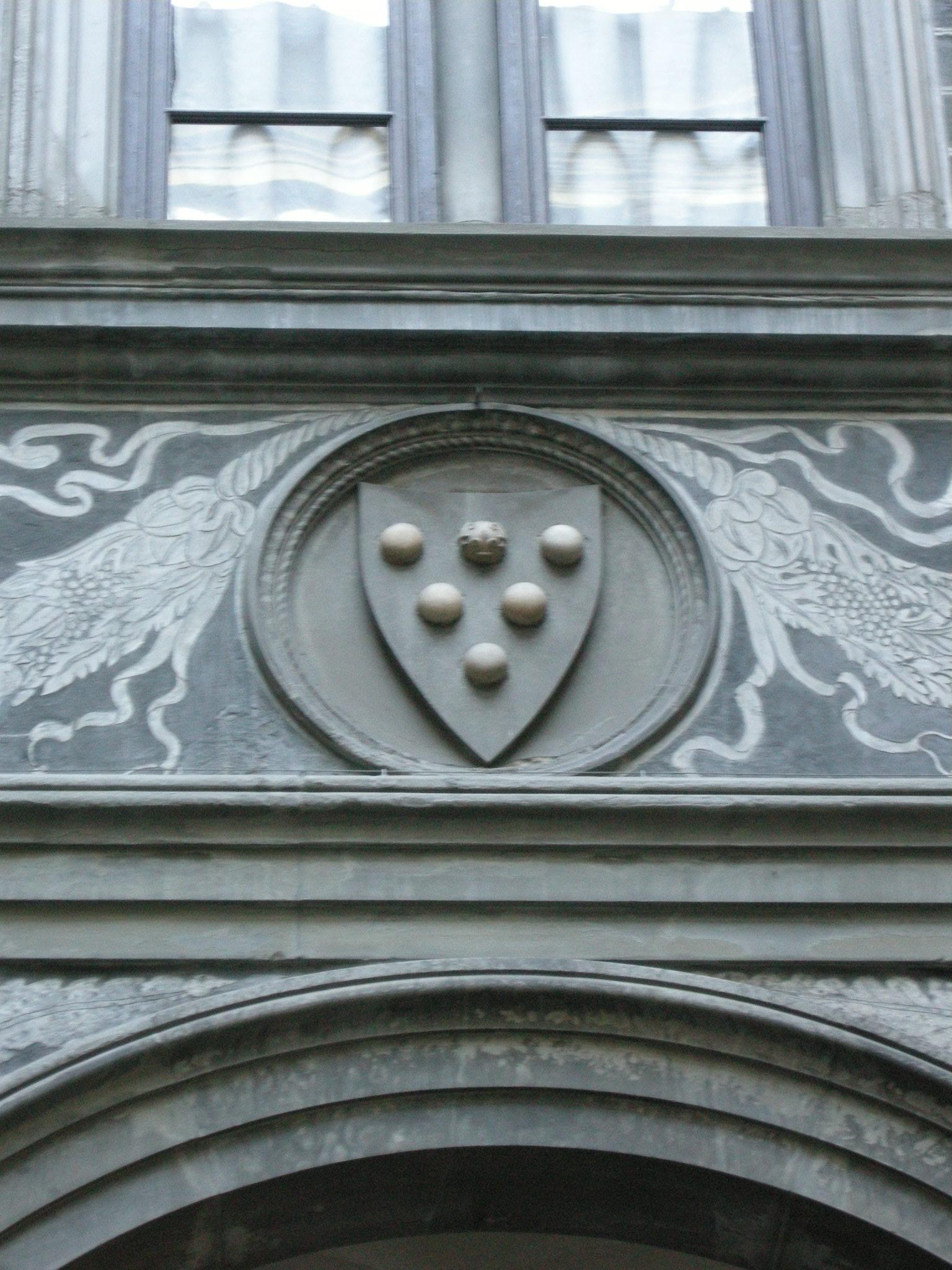 File Palazzo Medici Riccardi Cortile Fregio 11 Stemma