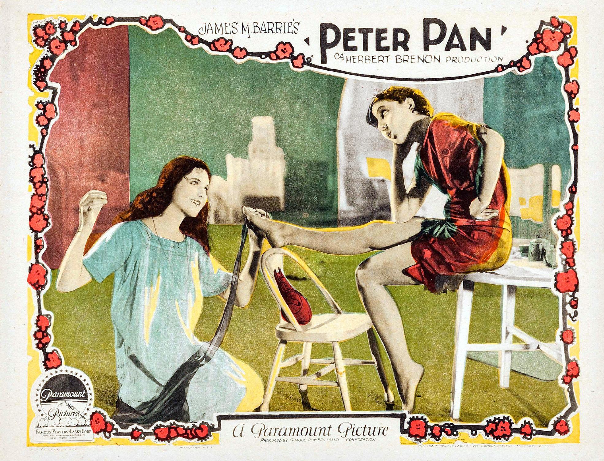 citation film peter pan