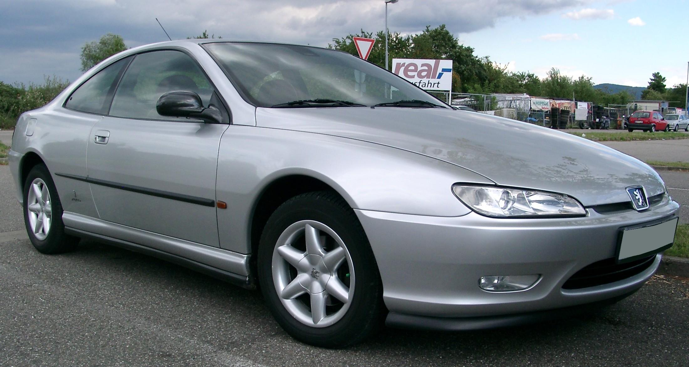 File:Peugeot 406 front 20070730.jpg