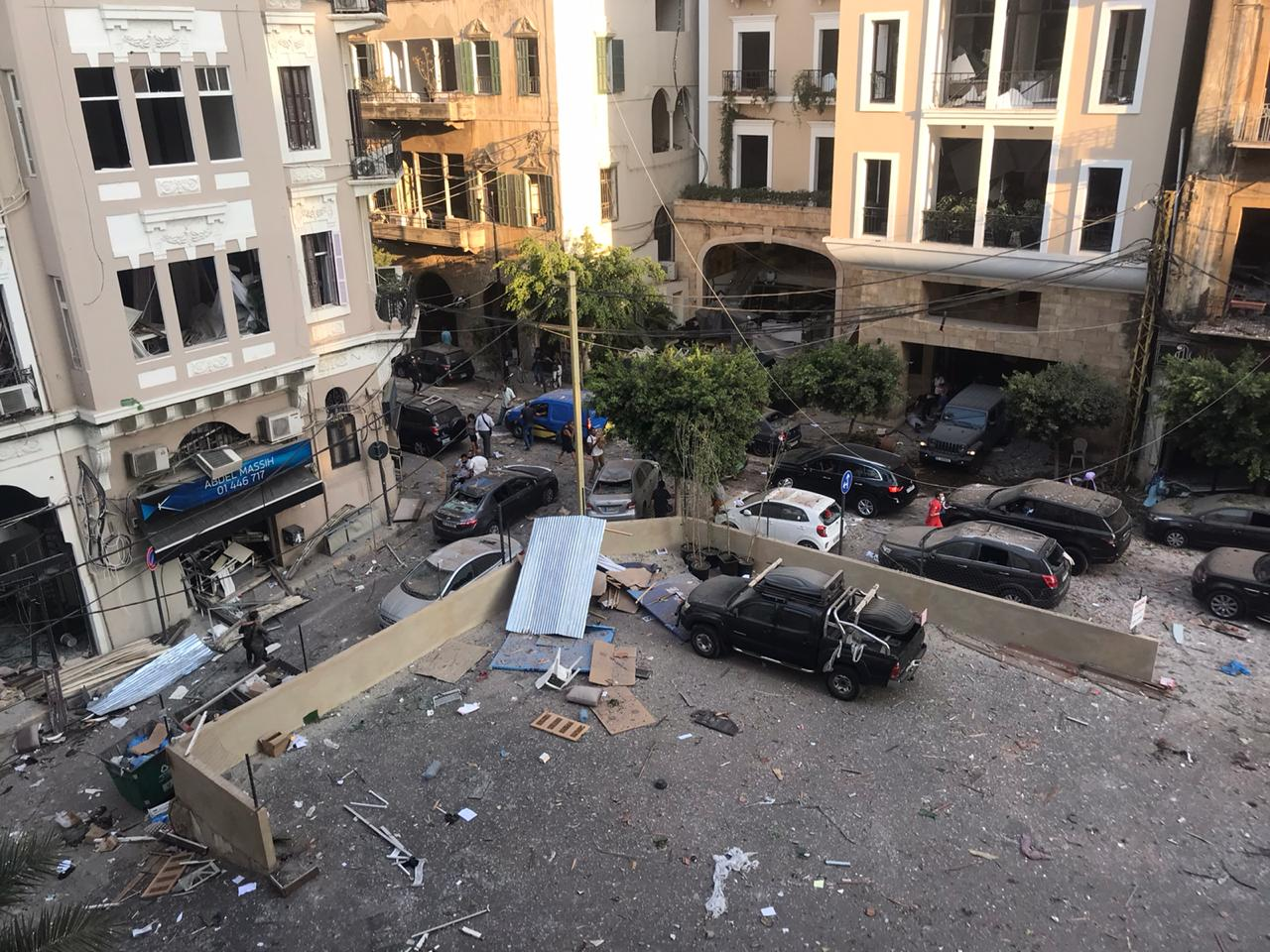 Port of Beirut explosion aftermath 4 August 2020.jpg