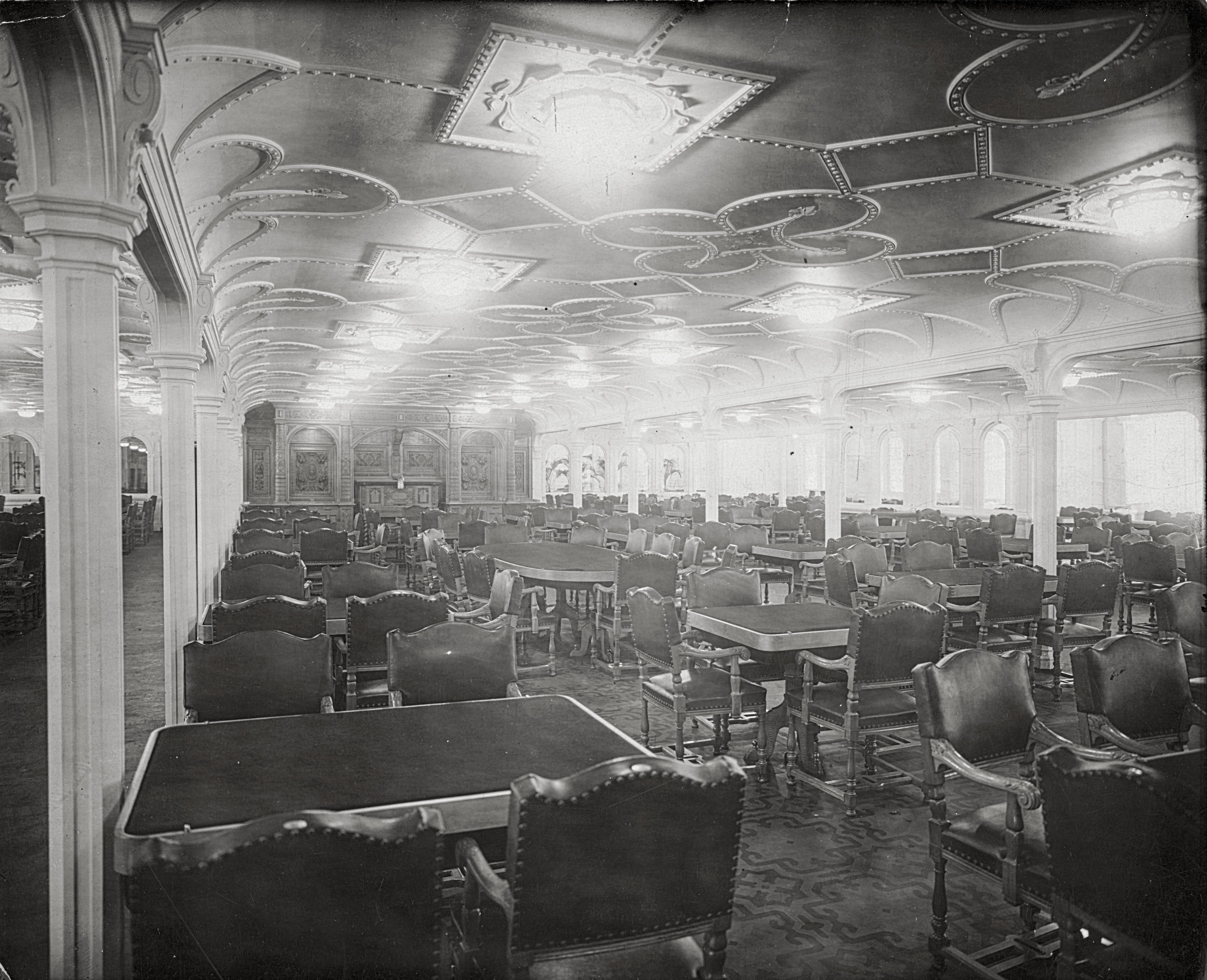 Titanic Movie Dining Room