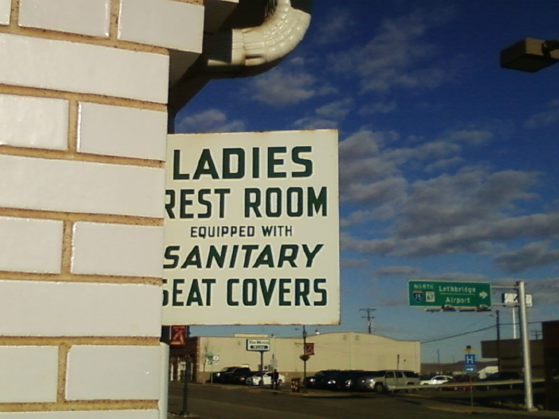 File:Rainbow Conoco ladies restroom sign.jpg