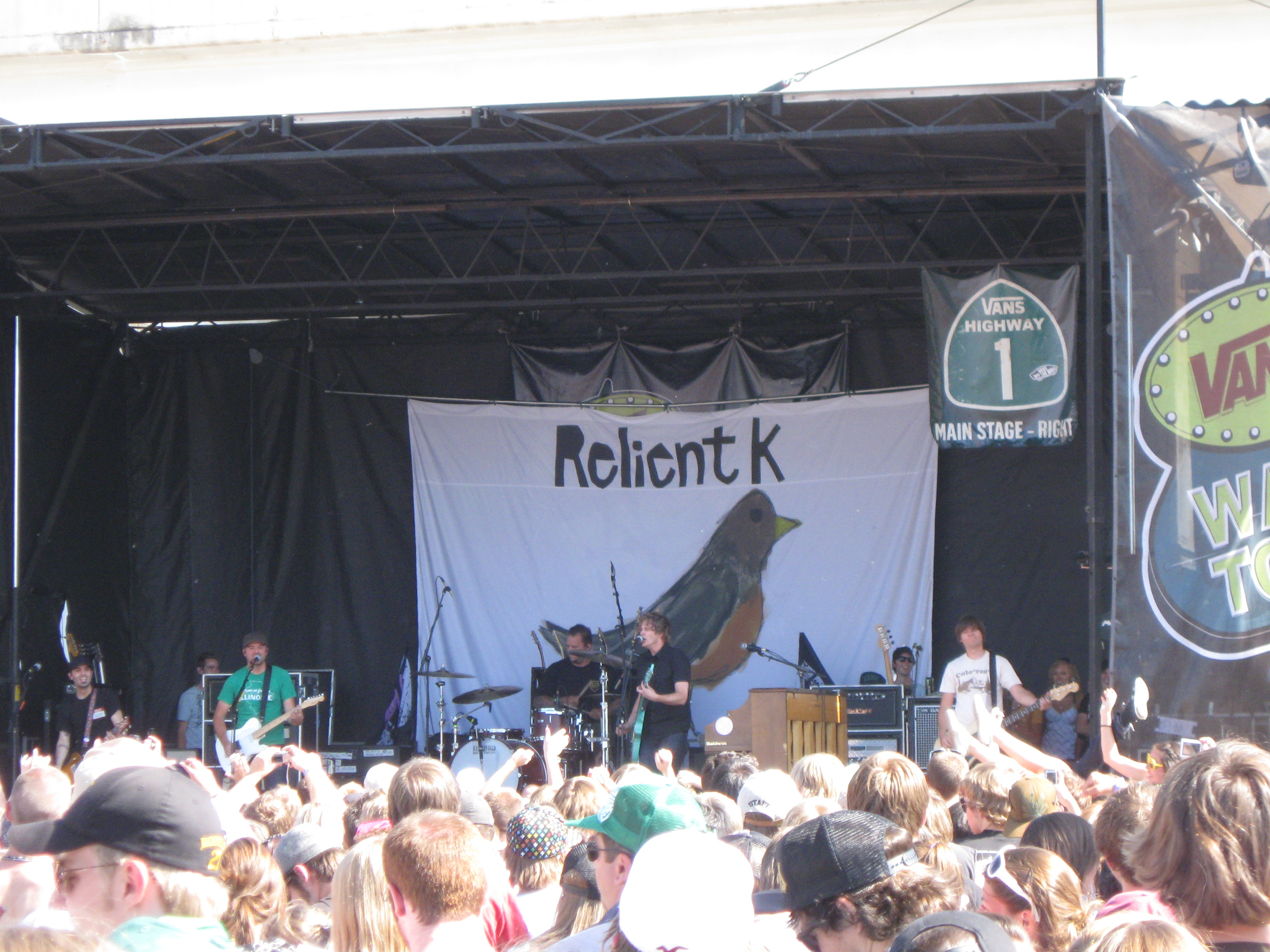 ed9abdf9f3 List of Relient K tours and live performances. From Wikipedia ...