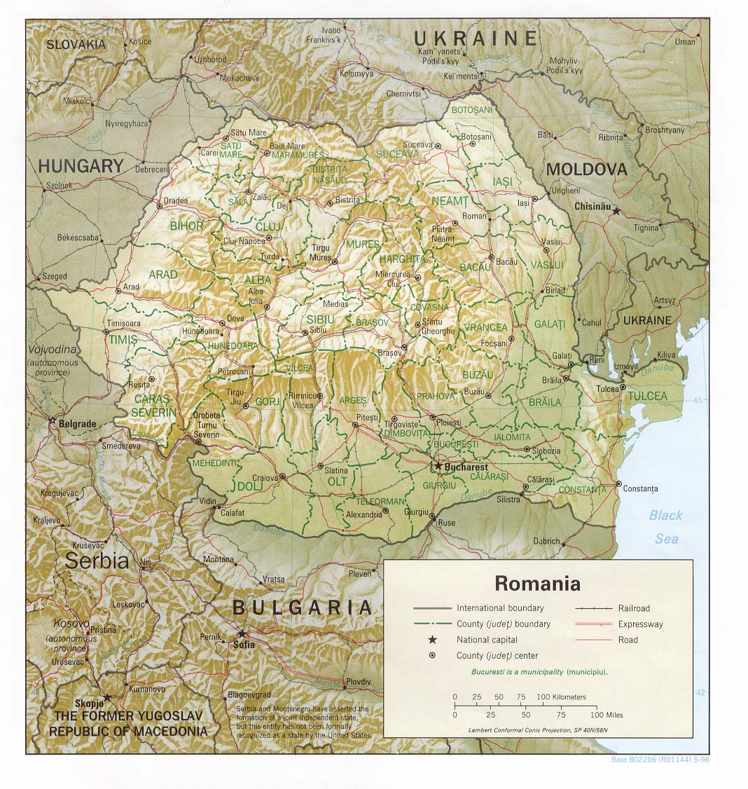 File Romania Counties And Shaded Relief Jpg Wikimedia Commons