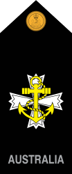 Royal Australian Navy Chaplain rank slide