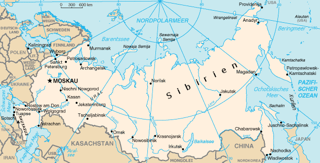 Russland im Kreise seiner Nachbarn