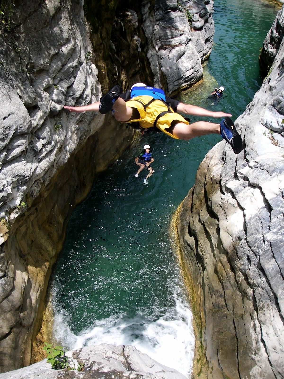 El Salto es perfecto para introducirse en el mundo del cañonismo.
